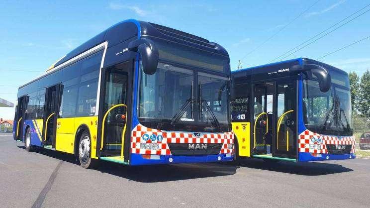 Aż 16 z 19 autobusów w taborze KM jest dofinansowanych z Europejskiego Funduszu Rozwoju Regionalnego.