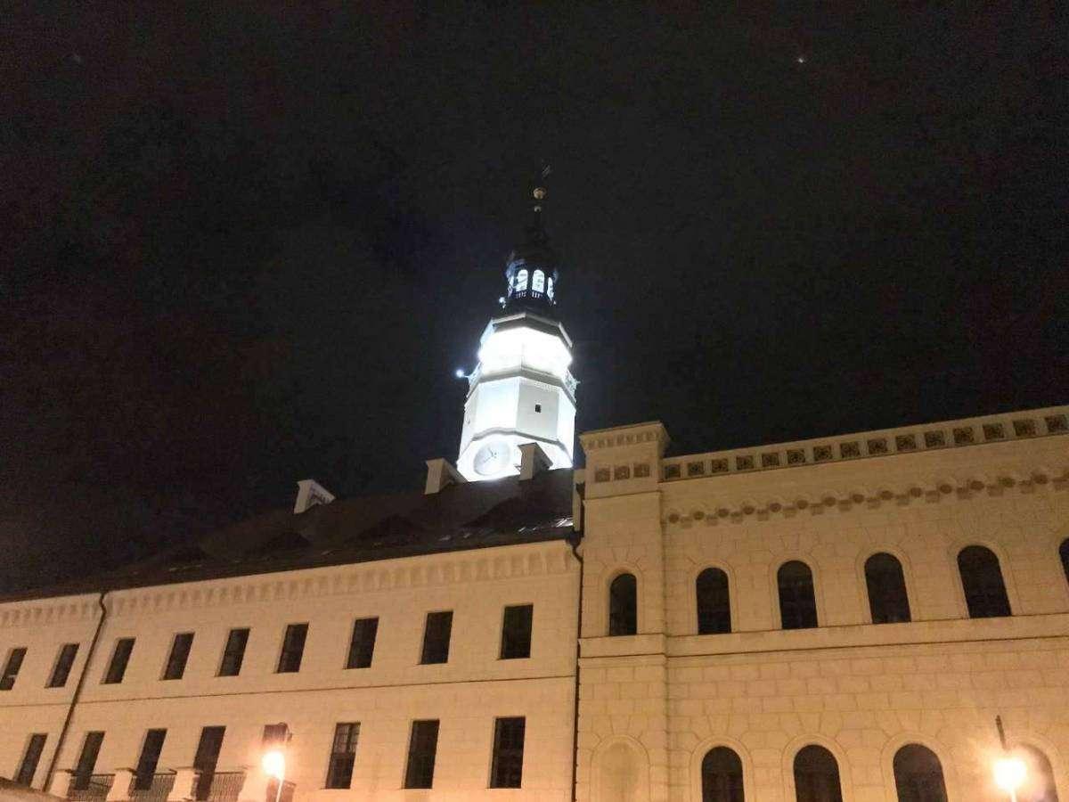 wieża ratuszowa Głogów