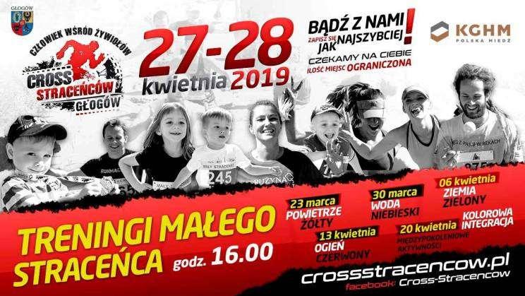 Plakat zapowiadający Cross Straceńców