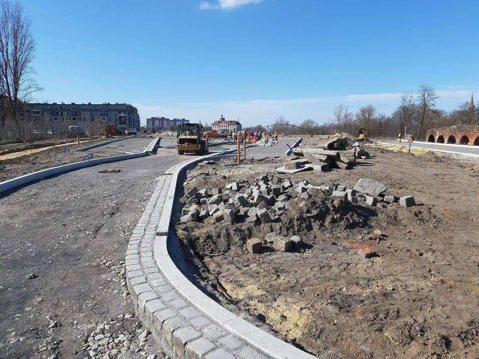 Postępy prac na terenie Bulwaru Nadodrzańskiego 001