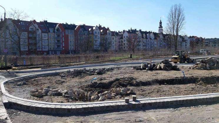 Postępy prac na terenie Bulwaru Nadodrzańskiego 005