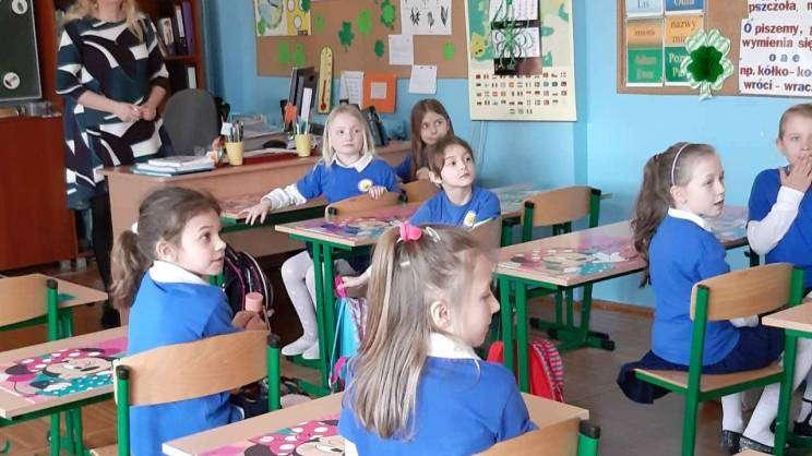 SP 12 Głogów uczniowie klasa