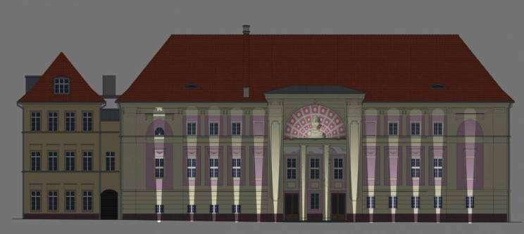 Wizualizacja Teatru im. Andreasa Gryphiusa w Głogowie
