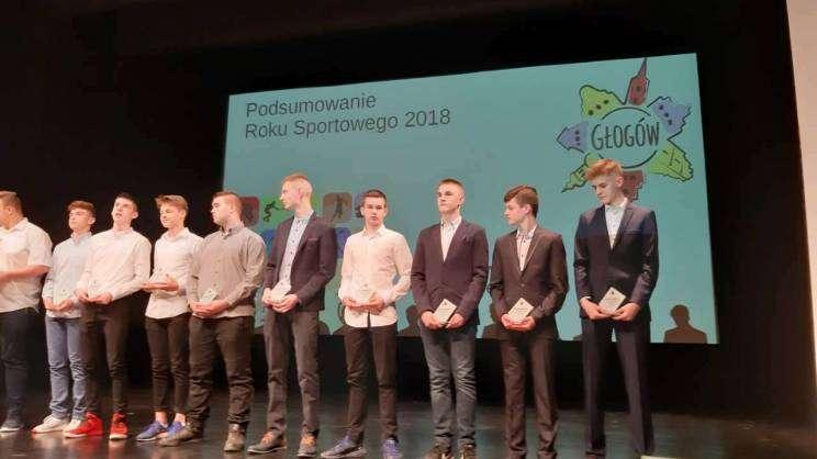 Podsumowanie roku sportowego MOK Głogów 03.04.2019fot. D. Jeczmionka