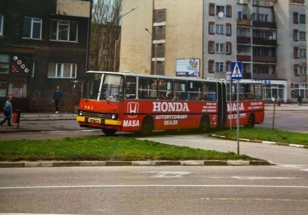 Autobusy Komunikacji Miejskiej w Głogowie w latach 90._1