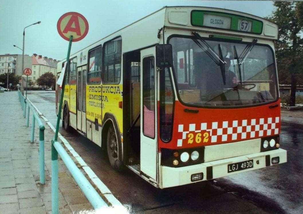 Autobusy Komunikacji Miejskiej w Głogowie w latach 90._2
