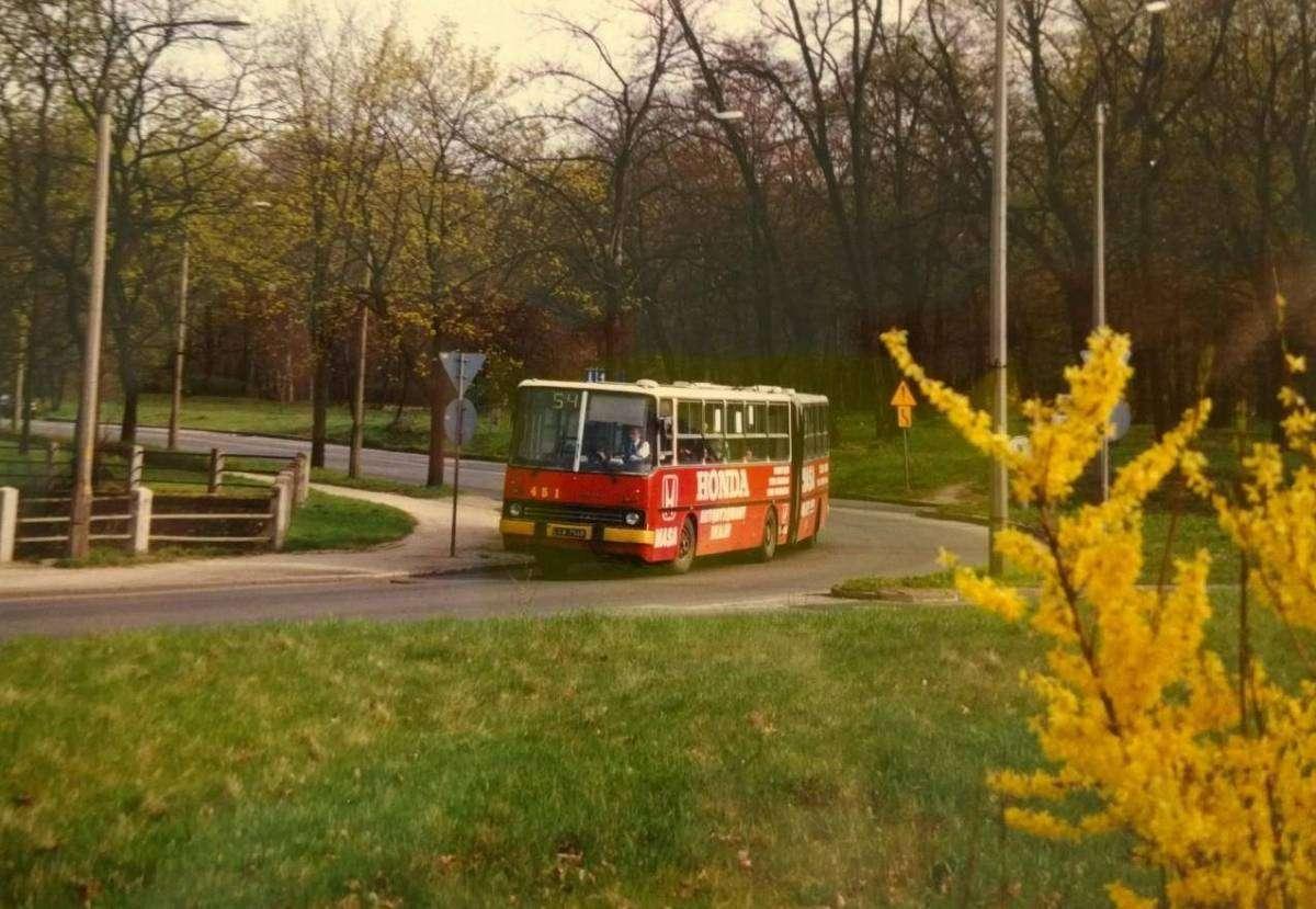 Autobusy Komunikacji Miejskiej w Głogowie w latach 90._3