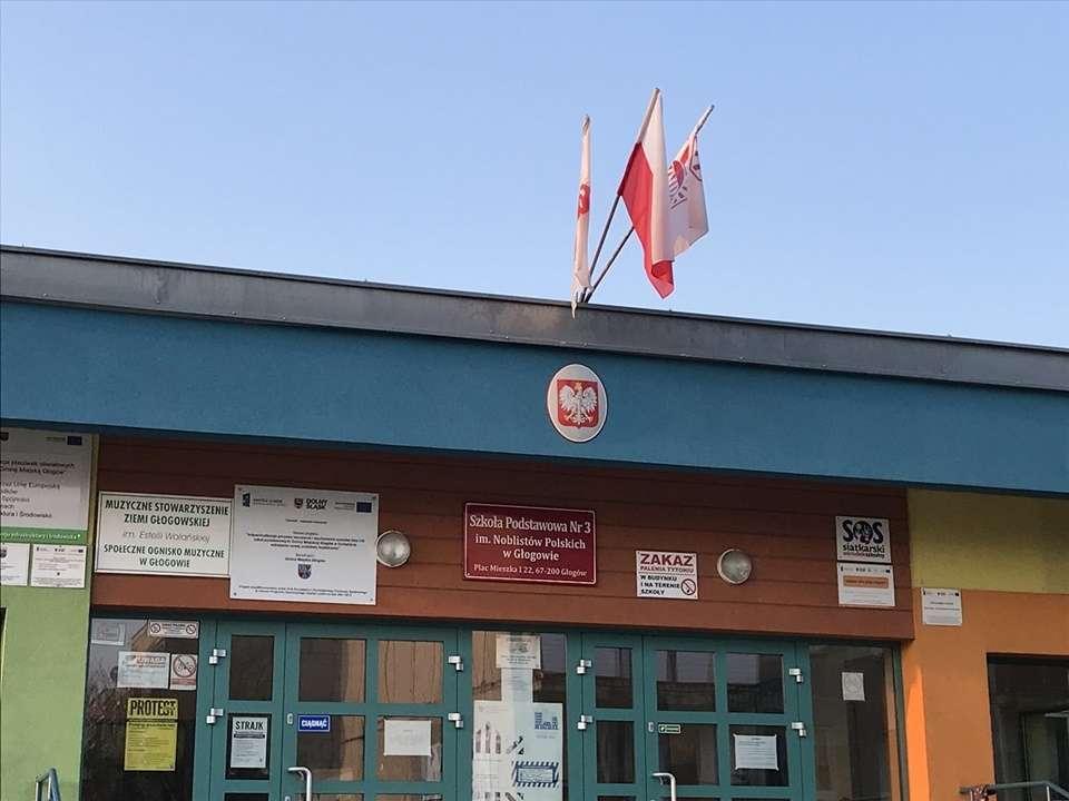 W głogowskich szkołach rozpoczął się strajk
