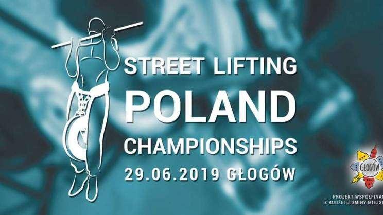 Plakat promujący wydarzenie - Street Lifting Poland Championships