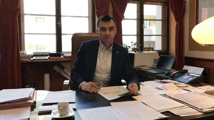 Prezydent Głogowa Rafael Rokaszewicz
