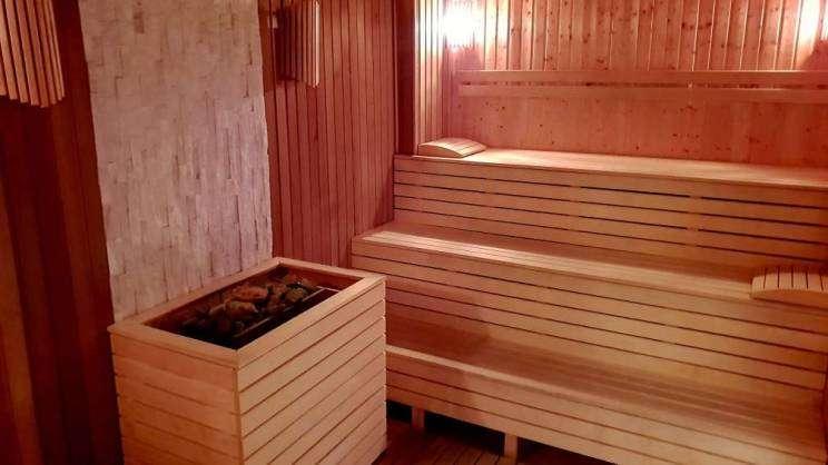 Sauna fińska w strefie spa&wellness Chrobrego Głogów
