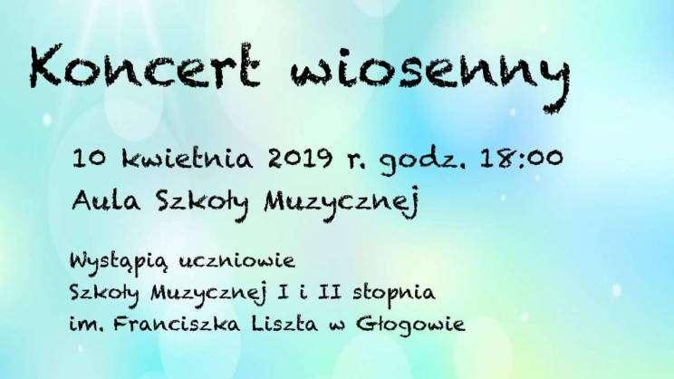 koncert wiosenny zaproszenie