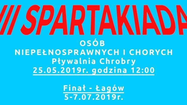 Plakat zapraszający na III Spartakiadę