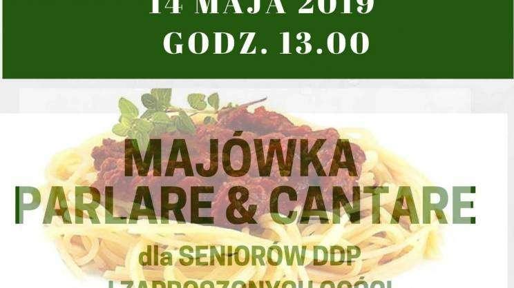 majówka dal seniorów Głogów 2019 DDP plakat
