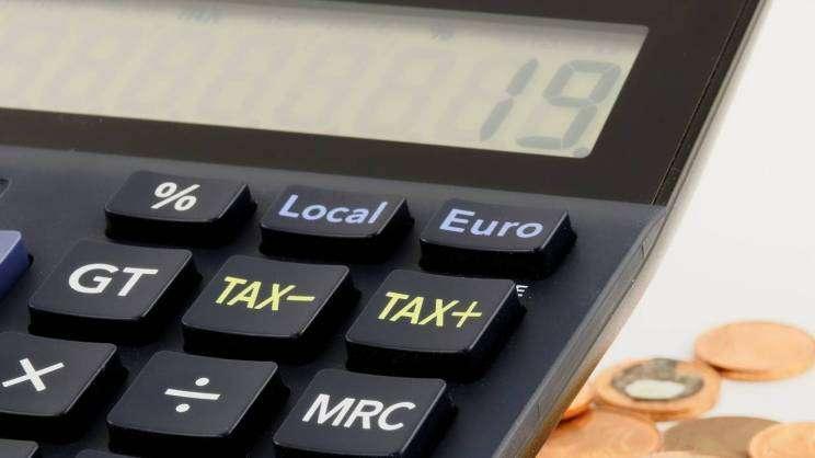 podatki zdjęcie poglądowe kalkulator