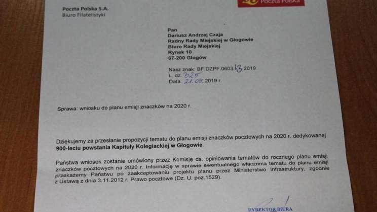 pismo znaczek pocztowy fot.Dariusz Czaja