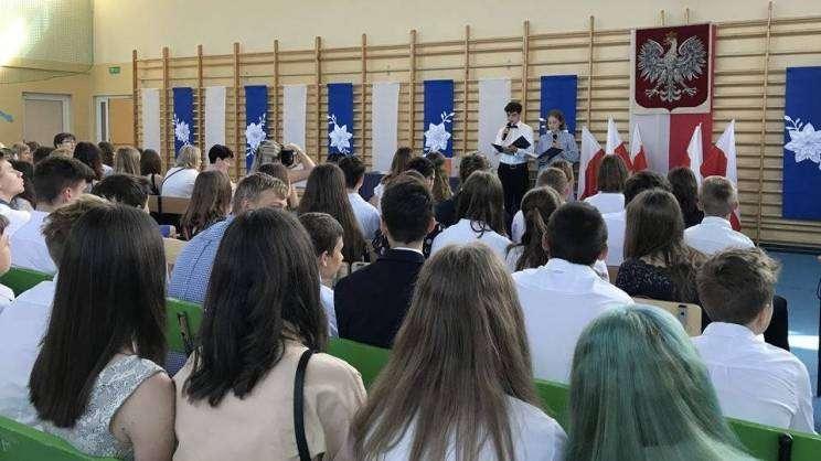 Zakończenie roku szkolnego w Szkole Podstawowej nr 8 w Głogowie