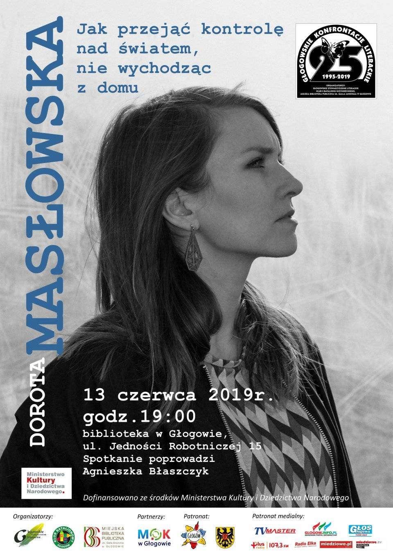 Spotkanie-z-Dorotą-Masłowską-plakat