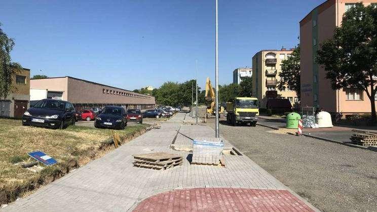 Trwają prace przy ulicy Niedziałkowskiego2_mini