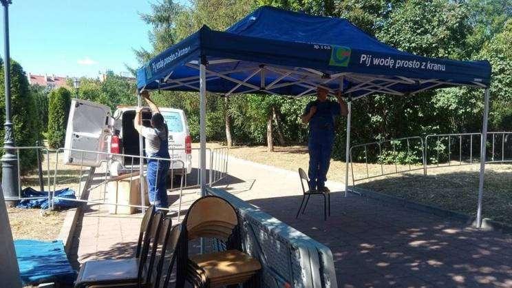 Namiot PWiK już czeka na mieszkańców Głogowa_1_mini
