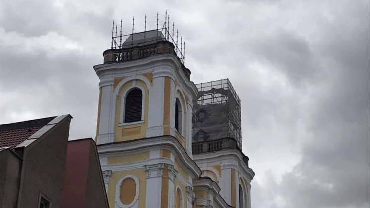 Remontowana wieża Kościoła Bożego Ciała_mini