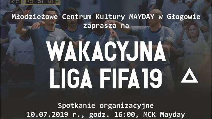 Wakacyjna Liga FIFA 19 spotkanie organizacyjne_mini