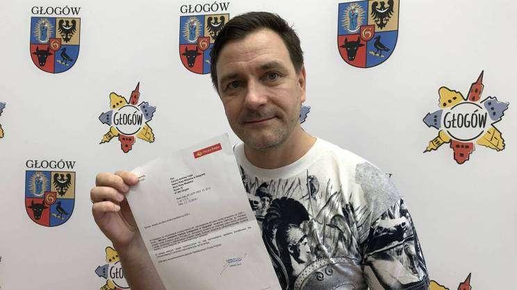 Znaczek pocztowy dla Głogowa z inicjatywy Dariusza Andrzeja Czai_3_mini
