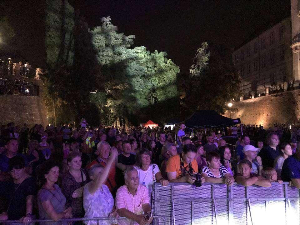 Noc Rockowa 2019_Małgorzata OStrowska w Fosie Miejskiej na koncercie