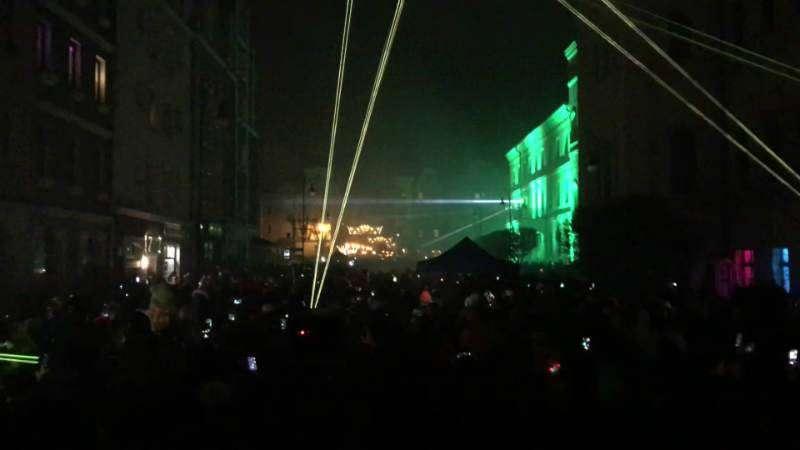 pokaz laserowy w Głogowie 2019/2020