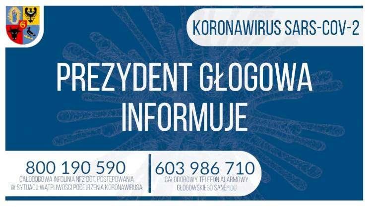 Prezydent Głogowa informuje grafika