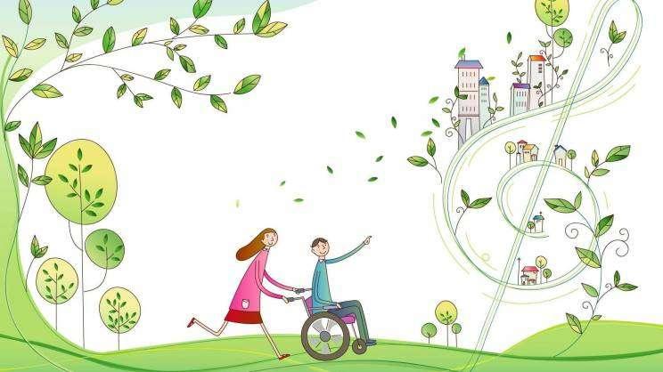asystent dzieci niepełnopsrawnych-grafika