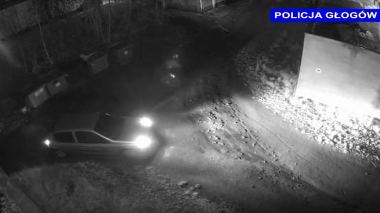 monitoring-zdjęcie-policja-samochód