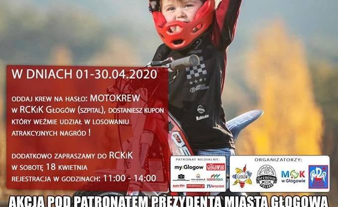plakat MotoKrew Głogów kwiecień 2020