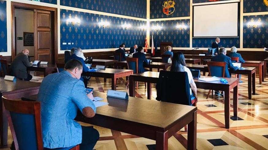 14.05.2020_sesja Rady Miejskiej w Głogowie