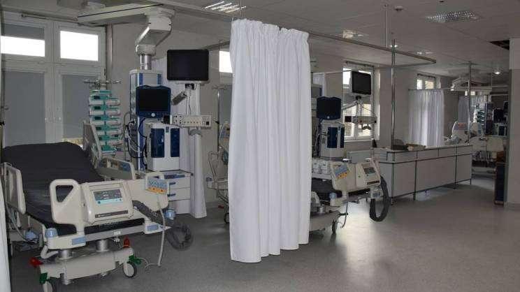 Szpital w Głogowie, oddział intensywnej terapii, zdj. MDG