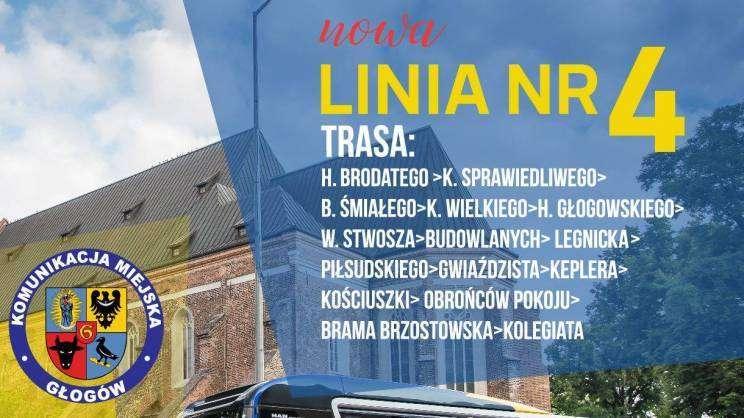Linia nr 4_komunikacja miejska w Głogowie