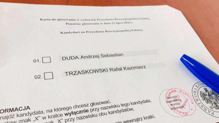karta do głosowania_wyborynaprezydneta_12.07.20