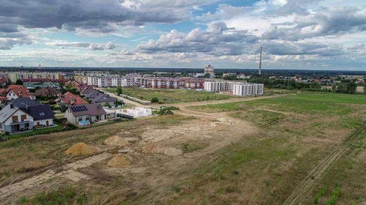 Nowy Piastów w Głogowie widok z lotu ptaka, Studio Siwek