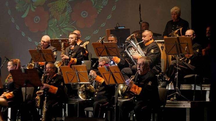 orkiestra hutnicza HM Głogówkoncert w Miejskim Ośrodku Kultury w Głogowie, zdjęcie Piotr Gajek