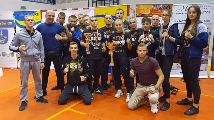 Legion Głogów-Mistrzostwa Polski Low-kick-zajawka