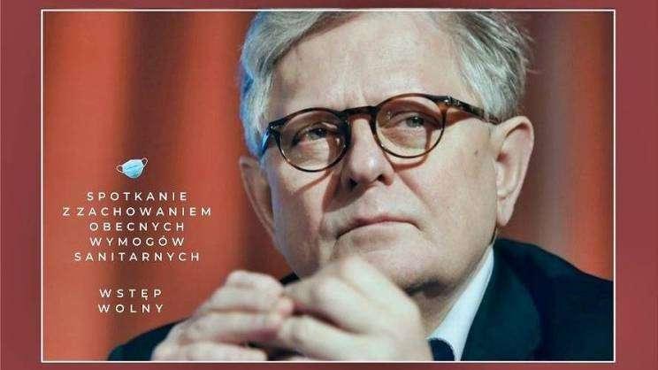 Spotkanie autorskie z Grzegorzem Gaudenem - GEK plakat