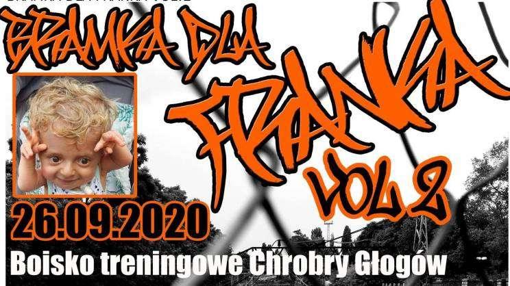 08.09.2020 akcja charytatywna bramka dla Franka, plakat