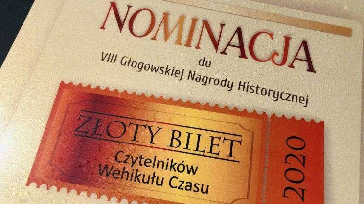 06.10.20202 gala Nagrody Historycznej Złoty Bilet, zdj. MDG