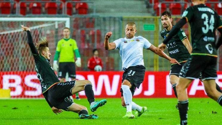 2020-10-16 GKS Tychy - Chrobry Głogów zdjęcia z meczu