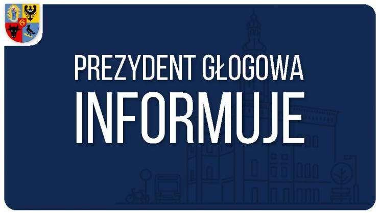 20.10.2020_grafika prezydent Głogowa inromuje