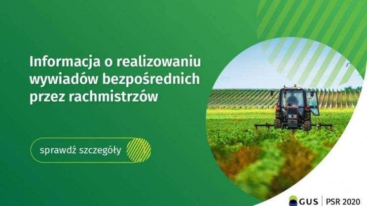 Spis rolny wywiad rachmistrzów plakat-zajawka