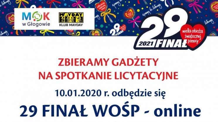 16.12.2020 WOŚP Głogów spotkanie licytacyjne