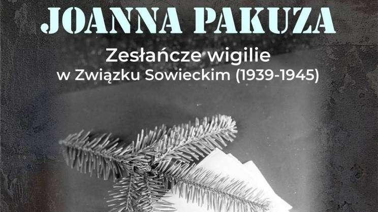 spotkanie autorskie z Joanną Pakuzą. plakat
