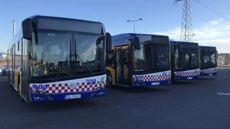 22.01.2021 Komunikacja Miejska w Głogowie nowe autobusy