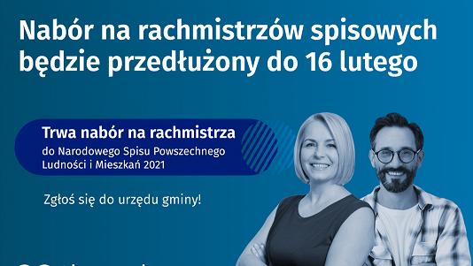 10.02.2021-nabór na rachmistrzów do 16 lutego-plakat